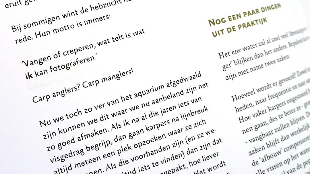 De Dunne Lijn Typografie